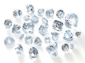Diamonds — Stock Photo