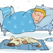Royalty-Free Stock Imagen vectorial: Sweet dreams