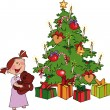 Royalty-Free Stock Imagen vectorial: Christmas time