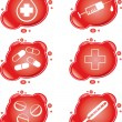 Royalty-Free Stock 矢量图片: Medical icons