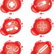Royalty-Free Stock Imagen vectorial: Medical icons