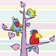 Royalty-Free Stock Imagen vectorial: Birdies