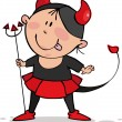Royalty-Free Stock Vector Image: Little devil.