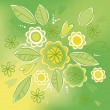 Royalty-Free Stock Vectorielle: Green Bouquet