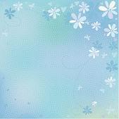 青色の背景色 — ストックベクタ
