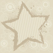 Abstract background with star — Stock Vector