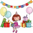 Happy birthday - Imagens vectoriais em stock