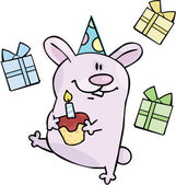 Feliz cumpleaños — Vector de stock