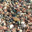 Colourful sea stones background — Stock Photo