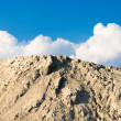 Stock Photo: Heap of sand