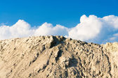 Heap of sand — Stock Photo