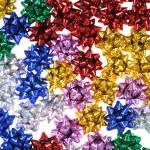Multi-coloured bows — Stock Photo