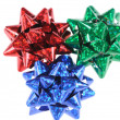 Multi-coloured bows — Stock Photo