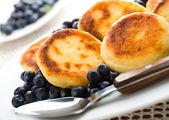 Curd pancakes — Stock Photo