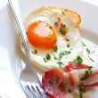 Fried eggs - Stockfoto
