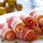 Bacon rolls — Stock Photo #2531246