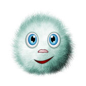 Fluffy, funny creature — Stock Photo