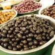 Olives on the market - Stock Photo