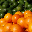 Green and Orange — Stock Photo
