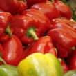 Red and green pepper — Stock Photo #1034919
