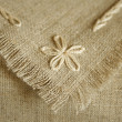 Handcraft serviette Fragment — Stock Photo #1036724