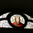 Stained-glass window in Church — Stock Photo #1036849