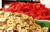 Dry fruits at the market — Stock Photo