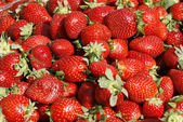Fresh Strawberry's background — Stock Photo