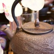 Iron teapot — Stock Photo
