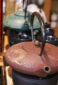 Iron teapot — Stock Photo