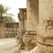 Jesus Synagogue Capernaum — Stock Photo