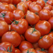 Rape tomato on the market — Stock Photo