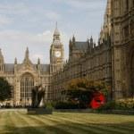 London Parlament Building, — Stock Photo