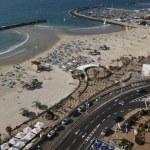 Seashore in Tel-Aviv — Stock Photo #1512873