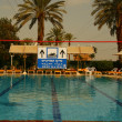 Постер, плакат: Swimming pool in hotel on Dead Sea