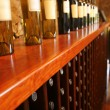 Bottles In Winerys Shop — Stock Photo