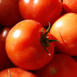 Rape tomatoes at th market — Stock Photo
