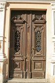 Old Door in European City — Stock Photo