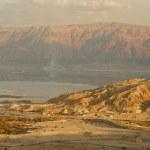 Sunset on the Dead Sea — Stock Photo