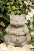 Ceramics lucky cat — Stock Photo