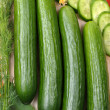 Royalty-Free Stock Photo: Cucumbers