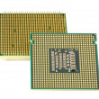 Royalty-Free Stock Photo: Two CPU, hyper DoF.