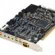 Sound card, extra DOF. - Stock Photo