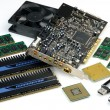 Stock Photo: Computer accessories, hyper DoF.