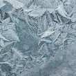 Royalty-Free Stock Photo: Hoarfrost on glass