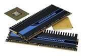 CPU and memory, hyper DoF. — Stock Photo
