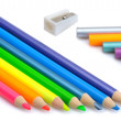 Colored pencils — Stok fotoğraf