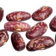 Spotted beans, isolated — Stock Photo