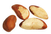 Brazil Nut (Bertholletia excelsa) — Stock Photo