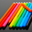 Colored felt pens — Stock Photo #2527203